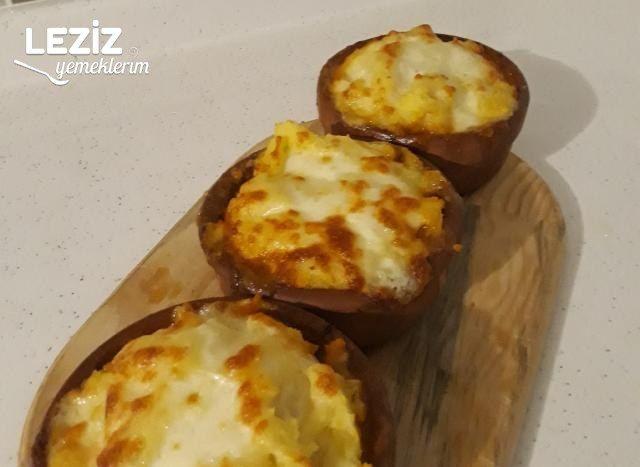 Kıymalı Çanakta Patates Püresi