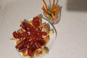 Meyve Salatası  Tabağı