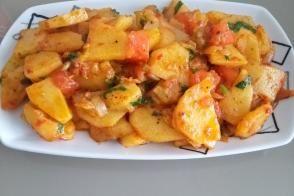 Patates Kavurması (Kahvaltıda Harika Lezzet)