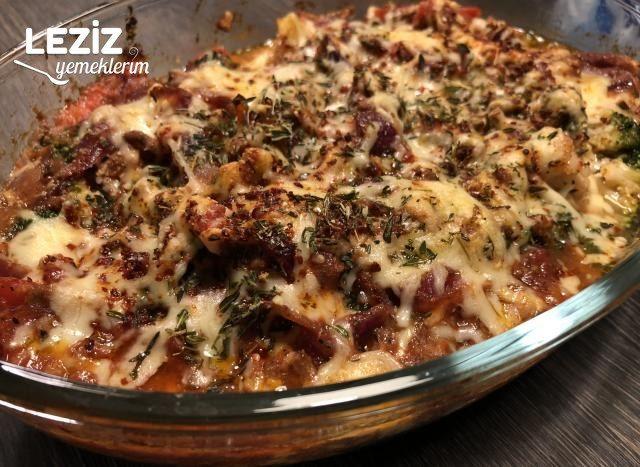 Peynirli Kıymalı Brokoli