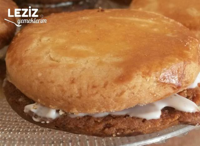 Peynir Sandviçli Tuzlu Kurabiye