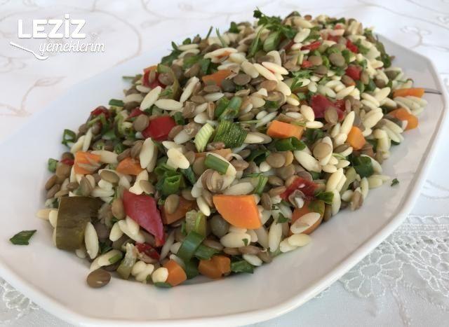 Arpa Şehriyeli Mercimek Salatası
