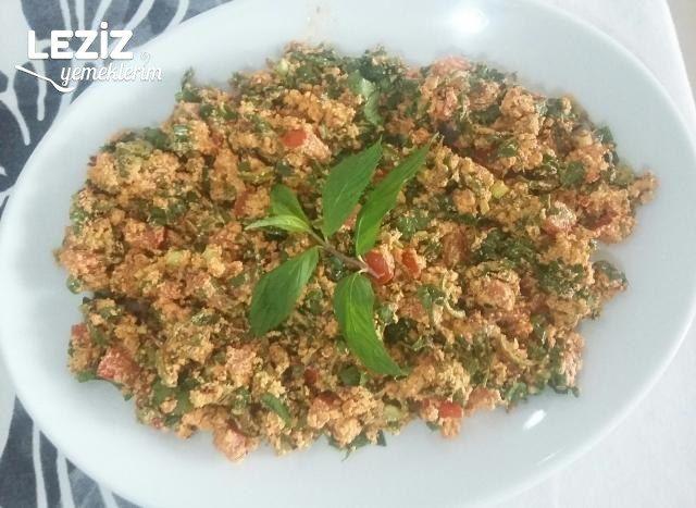 Sürk Salatası (Çökelek Salatası Hatay Yöresi)