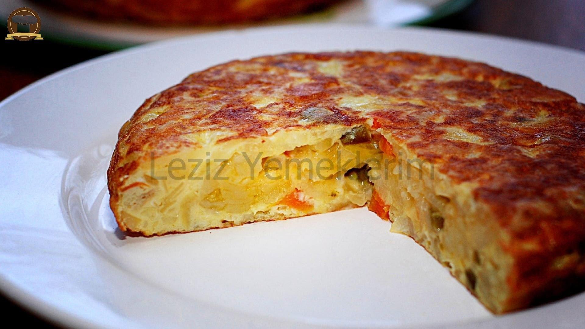 İspanyol omleti tortilla tarifi