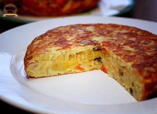 Tortilla  (İspanyol Omleti)