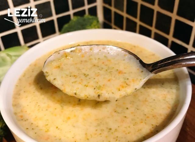 Leziz Brokoli Çorbası