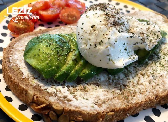 Poşe Yumurtalı Avokado