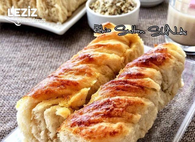 Tahinli Cevizli Burma Çörek