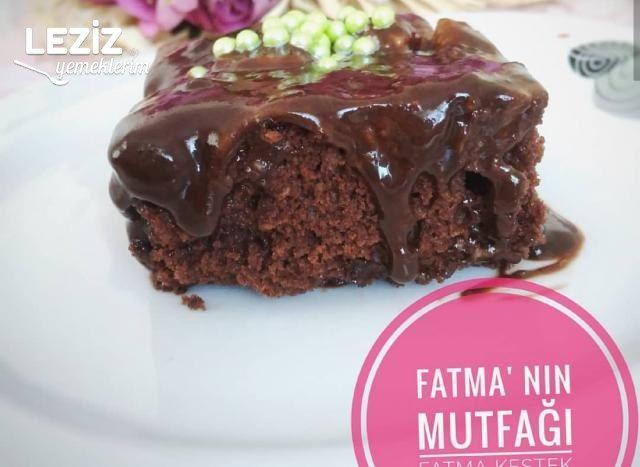 Çikolata Soslu Islak Kek (Lezzeti Garanti)
