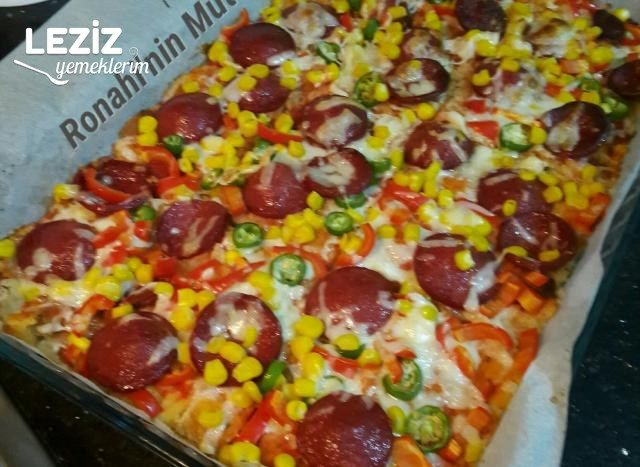 Bayat Ekmek Pizzası (Pazar Kahvaltısına)