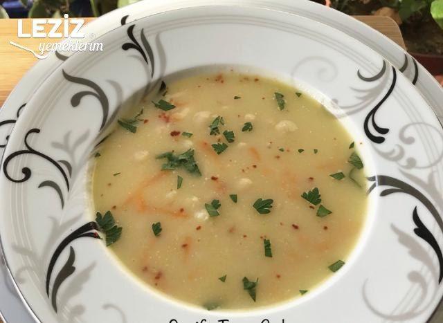 Tavuklu Kereviz Çorbası