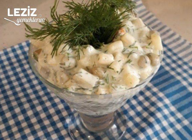 Makarna Salatası (Nefis - Mutlaka Deneyin)