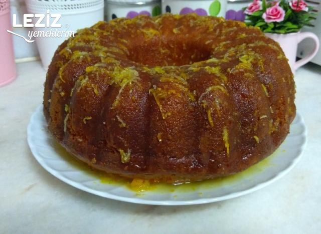 Portakal Soslu Kek Yapımı