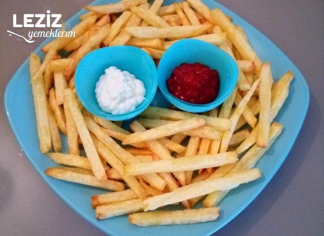 Çıtır Burger King Patates Nasıl Yapılır