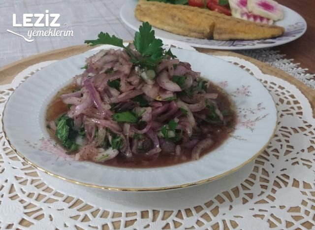 Nefis Soğan Salatası Tarifi