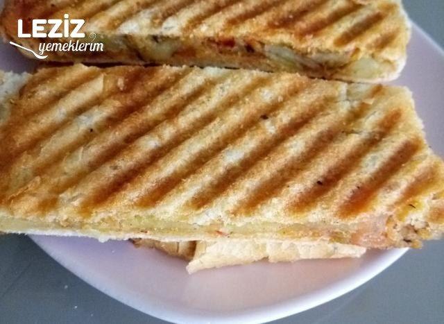 Patatesli Tost (Mutlaka Deneyin)