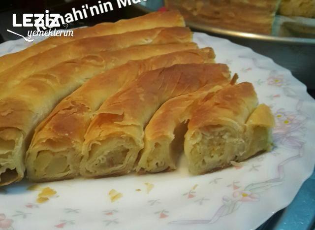 El Açması Patatesli Kol Böreği