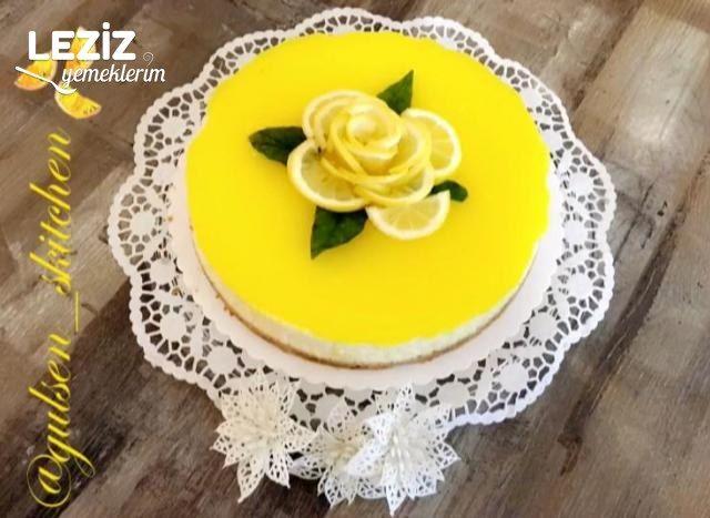Limonlu Cheesecake (Tam Kıvamında - Bayılacaksınız)