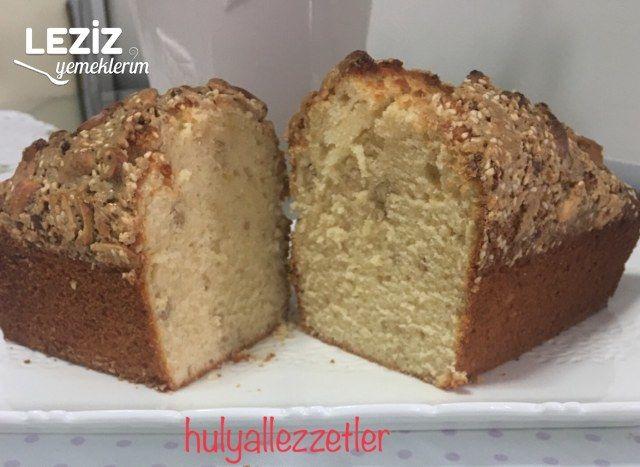 Yer Fıstıklı Tahinli Kek