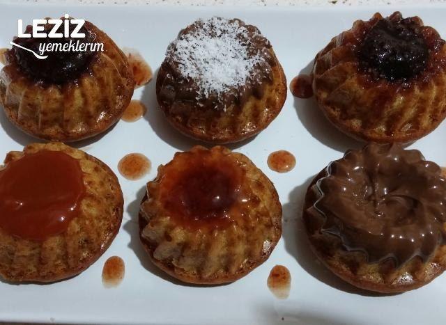 İçi Dolgulu Nefis Muffin Kek Tarifi