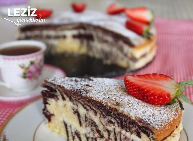 Zebra Yaş Pasta
