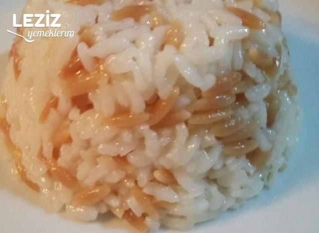 Arpa Şehriyeli Pirinç Pilavı (Tane Tane)