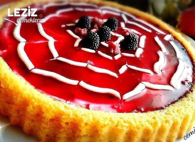 Tart Kalıbında Meyve Şölenli Pasta