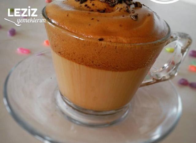 Sütlü Köpüklü Şahane Görünümlü Kahve