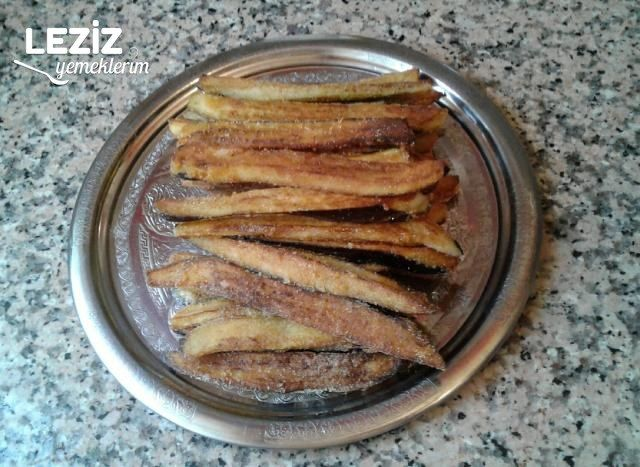 Patlıcan Kızartması (Mısır Unlu)