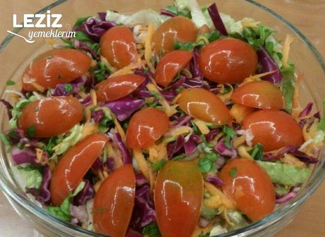 Lahanalı Turplu Mevsim Salatası