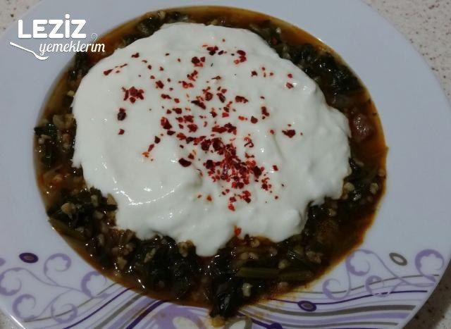 Yoğurtlu Ispanak Yemeği