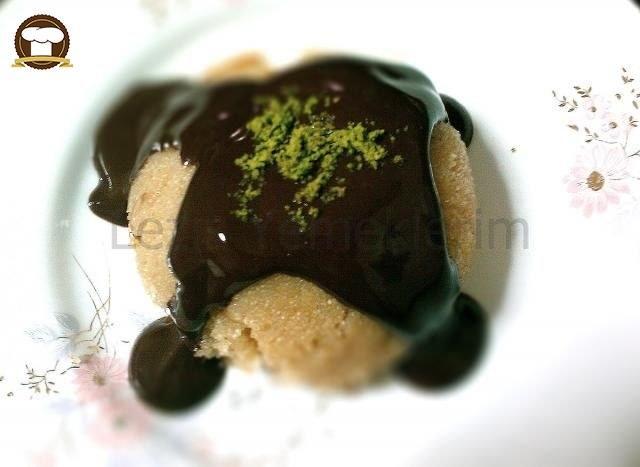 Çikolata Soslu İrmik Helvası