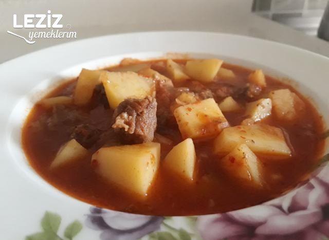 Nefis Etli Patates Yemeği