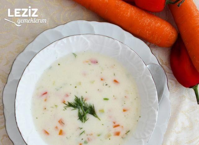 Sebzeli Sütlü Çorba