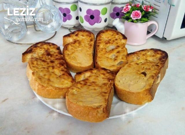 Kahvaltılık Tahinli Ekmek Dilimleri