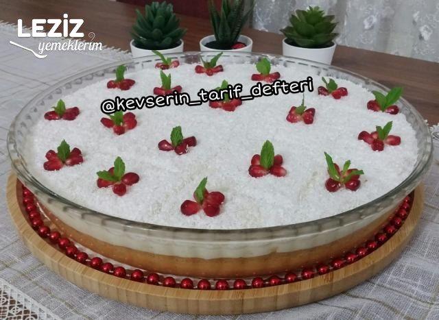 Muhteşem Gelin Pastası Tarifi