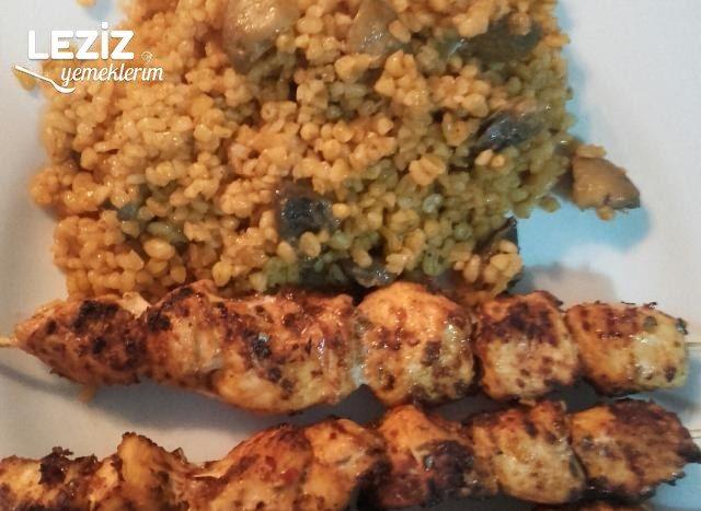 Tavuk Şiş Tarifi (Mangal Tadında)