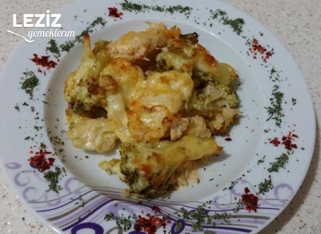 Kremalı Karnabahar Brokoli Yemeği