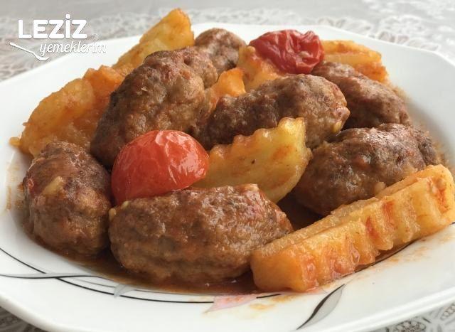 Fırında Köfte Patates Nasıl Yapılır