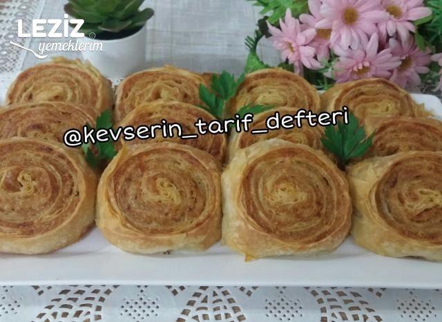 Nefis Patatesli Rulo Börek