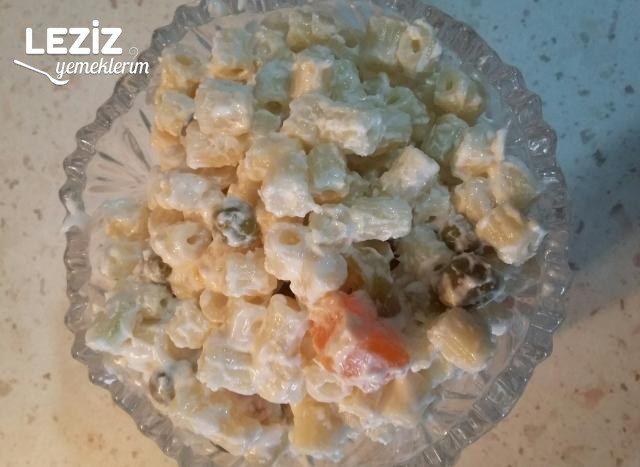 Makarna Salatası Yapımı