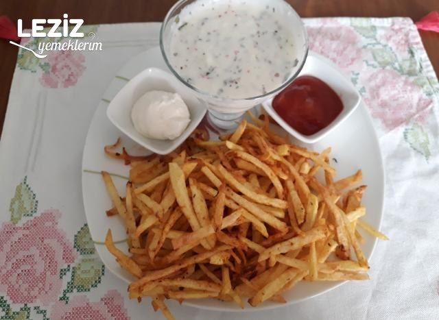 Cips Kıvamında Patates Kızartması
