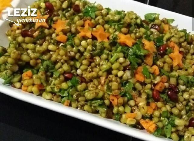 Maş Fasulyesi Salatası (Yedikçe Kilo Verdiren)