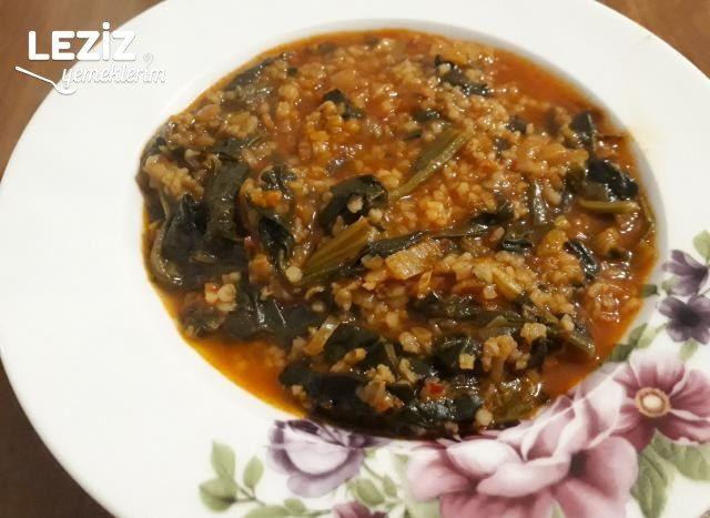 Ispanaklı Sulu Yemek