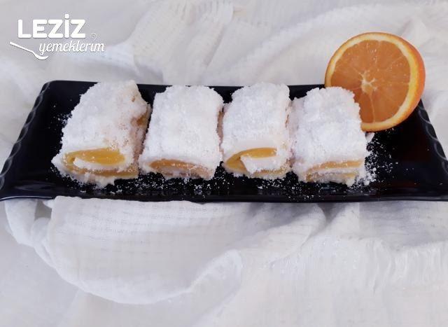 Portakallı Lokum Tarifi