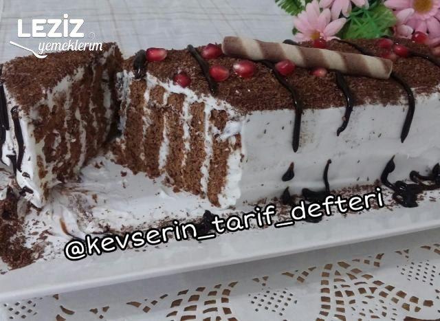 Nefis Balerin Pastası Tarifi (3 Malzemeli)