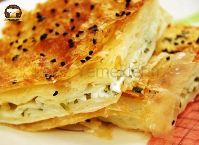 Peynirli Börek Yapılışı