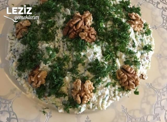Kabaklı Bulgurlu Salata