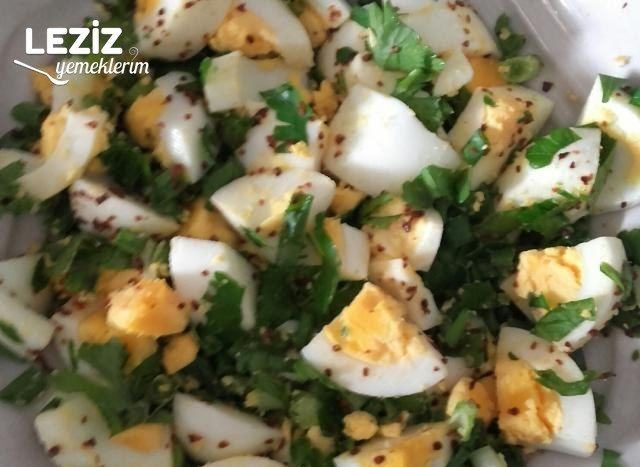Yumurta Salatası (Harika Lezzet)