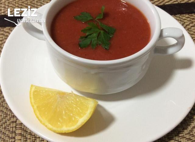 Pancarlı Sebze Çorbası